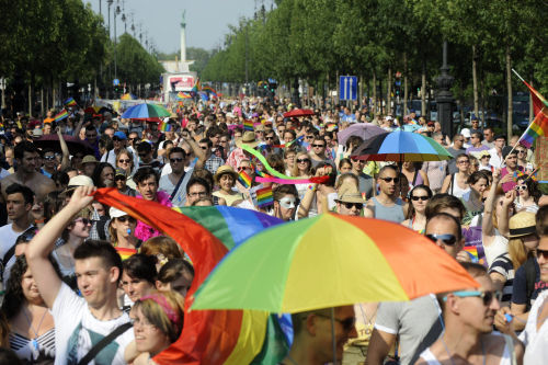 Budapest Pride March 2012 (Photo: MTI)