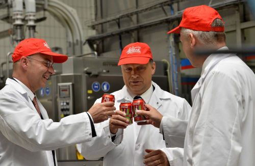 New Coca-Cola production line in Hungary: a drink that has always been a symbol
