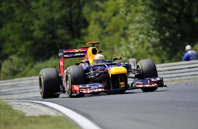 Sebastian Vettel, a Red Bull