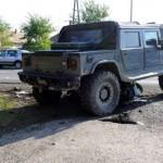 Austrian Hummer driver kills a Hungarian policeman