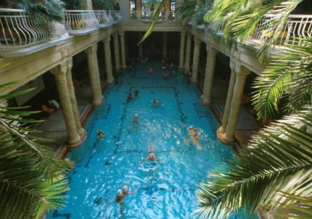 The Gellért Bath and Spa in Budapest