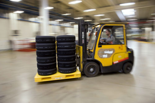 Inside the Hungarian Hankook Factory