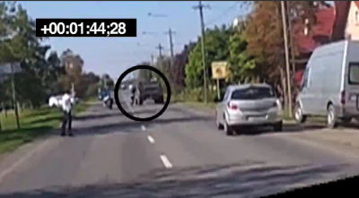 Video about the Hummer-killed Hungarian policeman