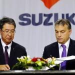 Strategic Partnership between Suzuki and Hungarian Government