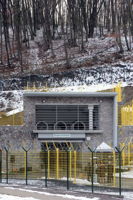 Radioactive waste storage opens in Hungary