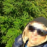Take a selfie with your cannabis plant