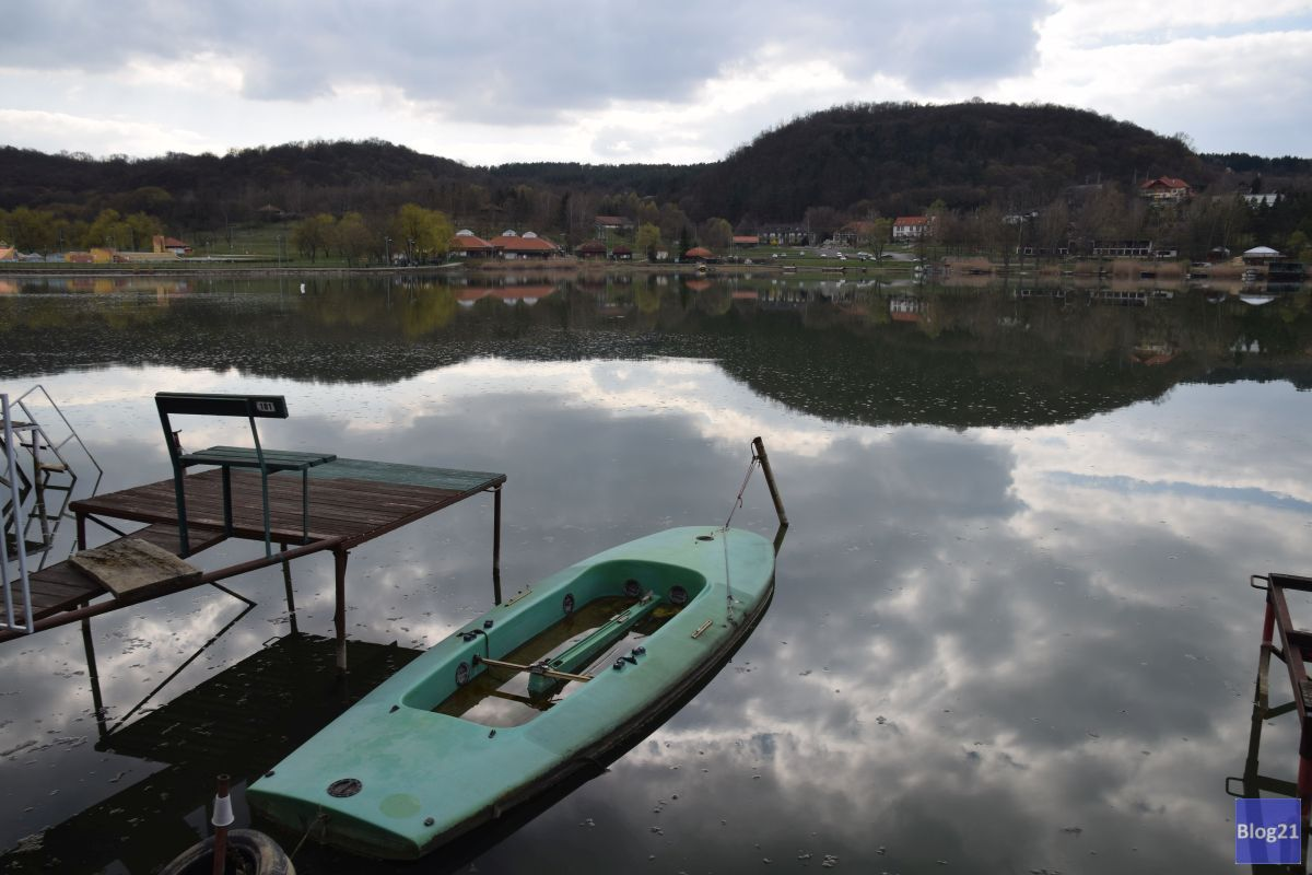 Lake Orfu in spring time