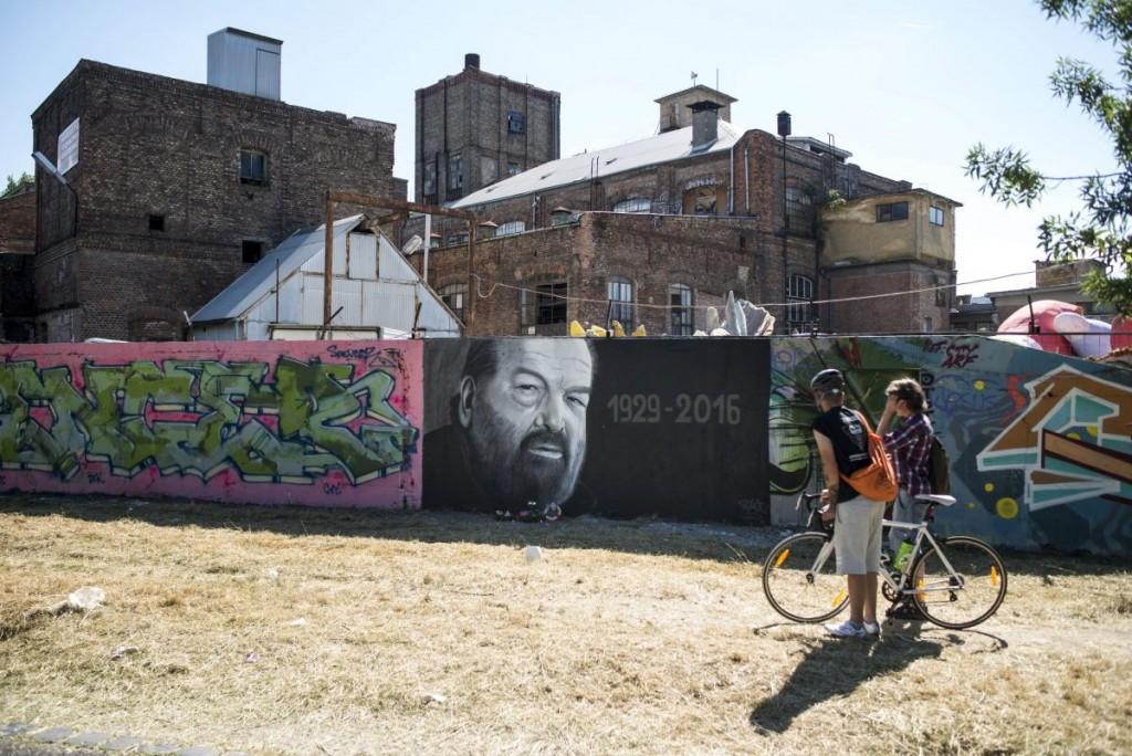 Professional Bud Spencer Graffiti In Hungary Pannonland Com