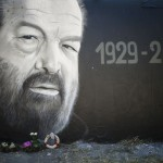 Professional Bud Spencer graffiti in Hungary