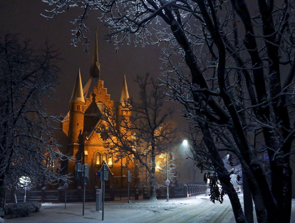 The Calvinist church in Szolnok, East Hungary (Photo: János Bugány)
