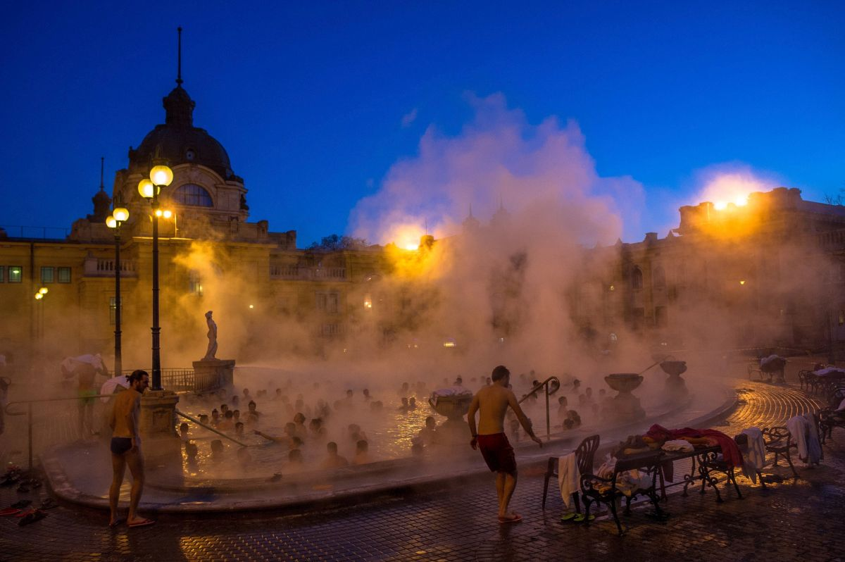 Szechenyi Bath in Budapest (Photo: Bea Kallos)