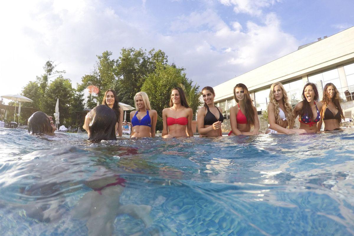 Miss Hungary bikini photos