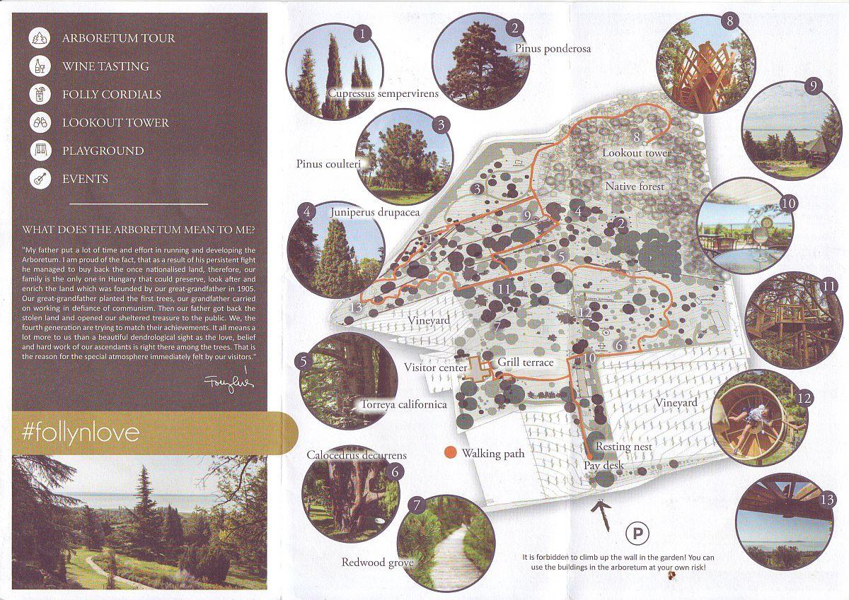 folly arboretum map