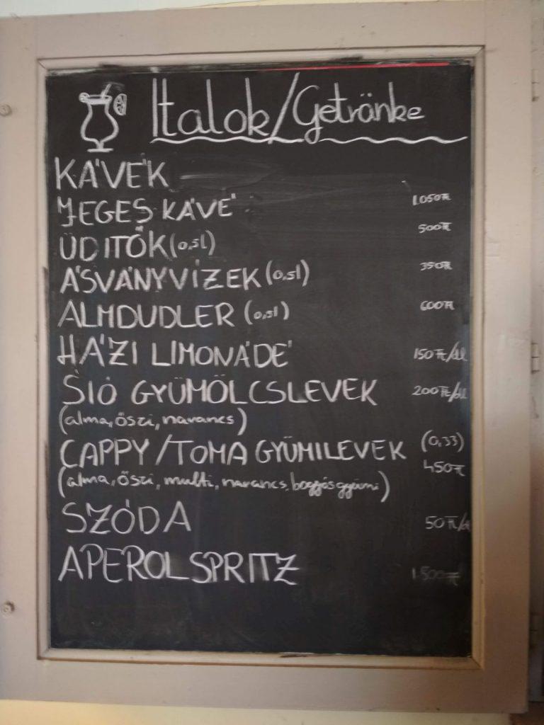 Balaton beach bar