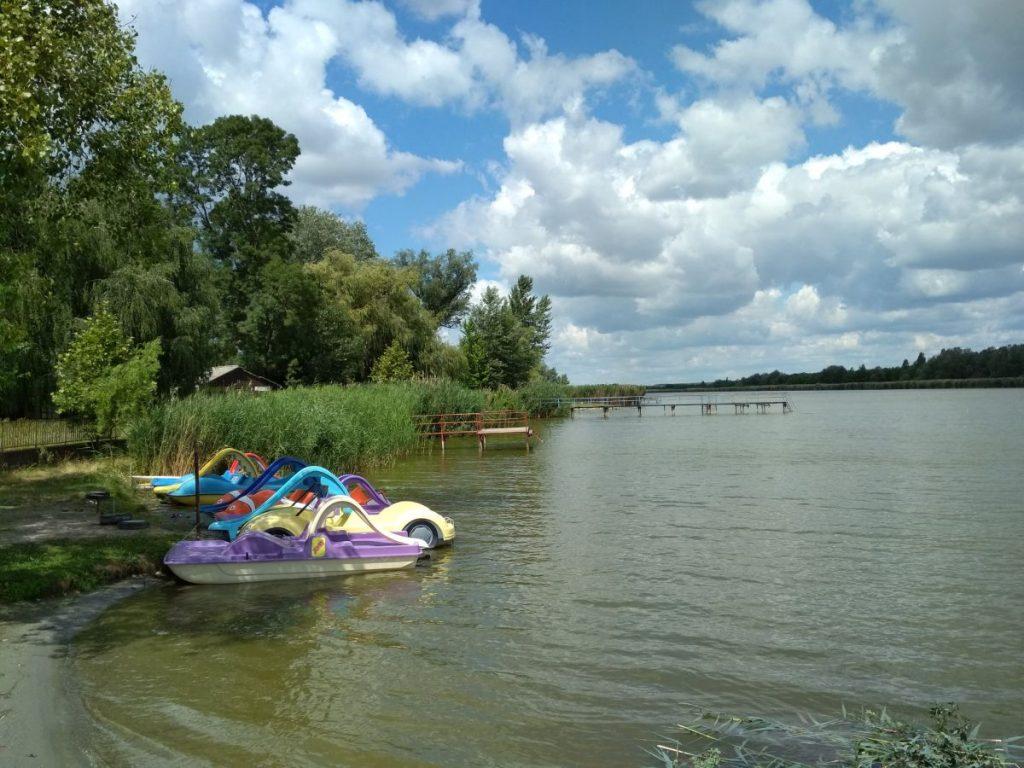 Danube beach